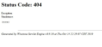 404 error code when visiting Coverage Report from project.jpg