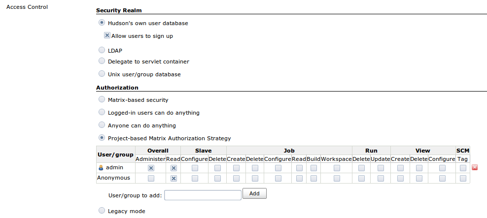 JENKINS-7025] Workspace permissions don't work with Project-based