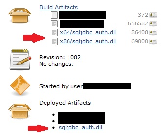 JENKINS-12311] Display the Deployed Artifacts in a tree