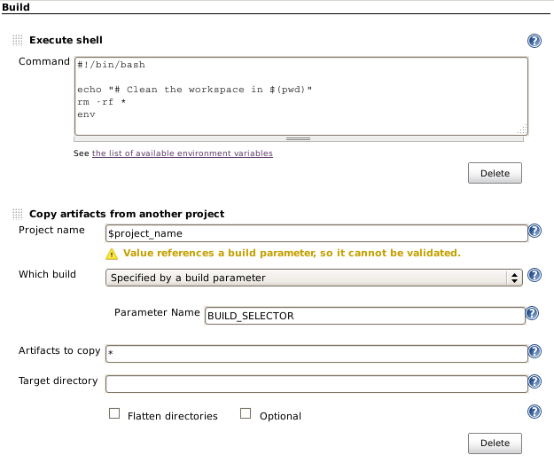 JENKINS-14999] Copy Artifact plugin: Unable to find project