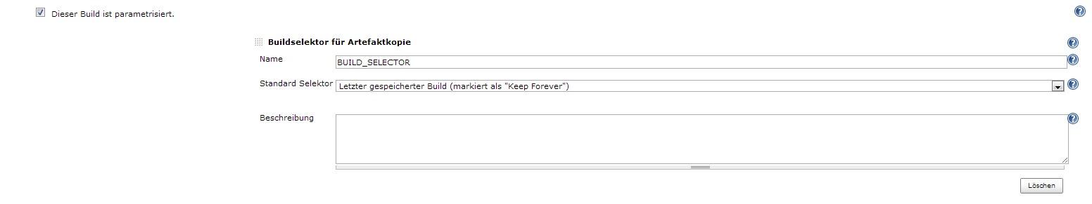 JENKINS-15886] parameterized builds start default ant target