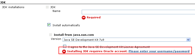 JENKINS-16119] JDK 7u9 auto install fails: Your Oracle account doesn