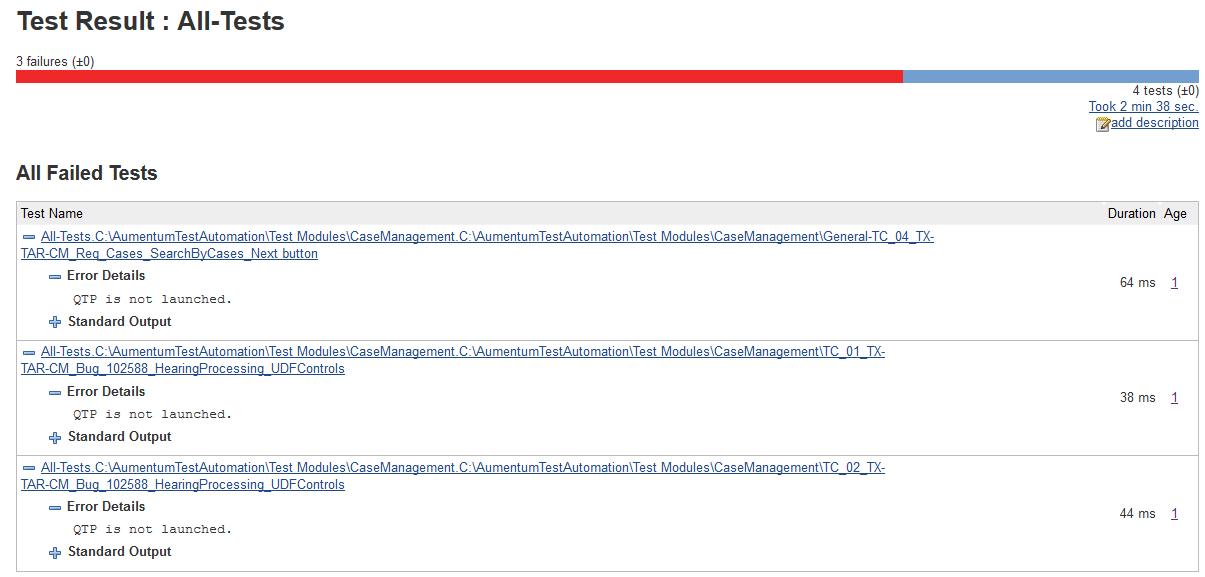 JENKINS-27872] Only first QTP test is executed, others are