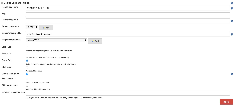JENKINS-29933] Docker build publish plugin required