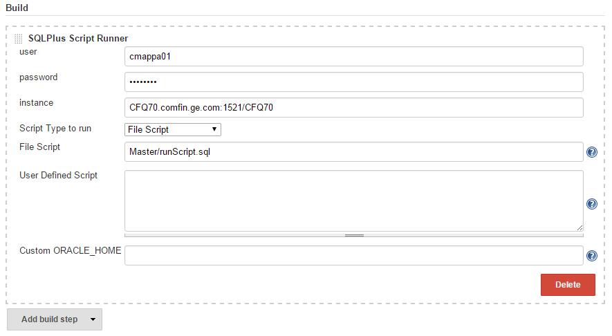 JENKINS-32286] SQLPlus Script Runner 1 0 1 -