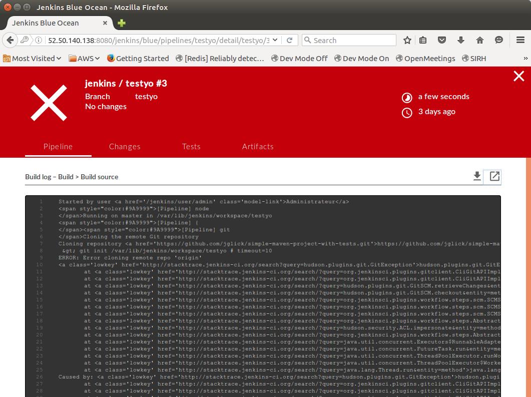 JENKINS-35212] Build log displays HTML markup in Firefox - Jenkins JIRA