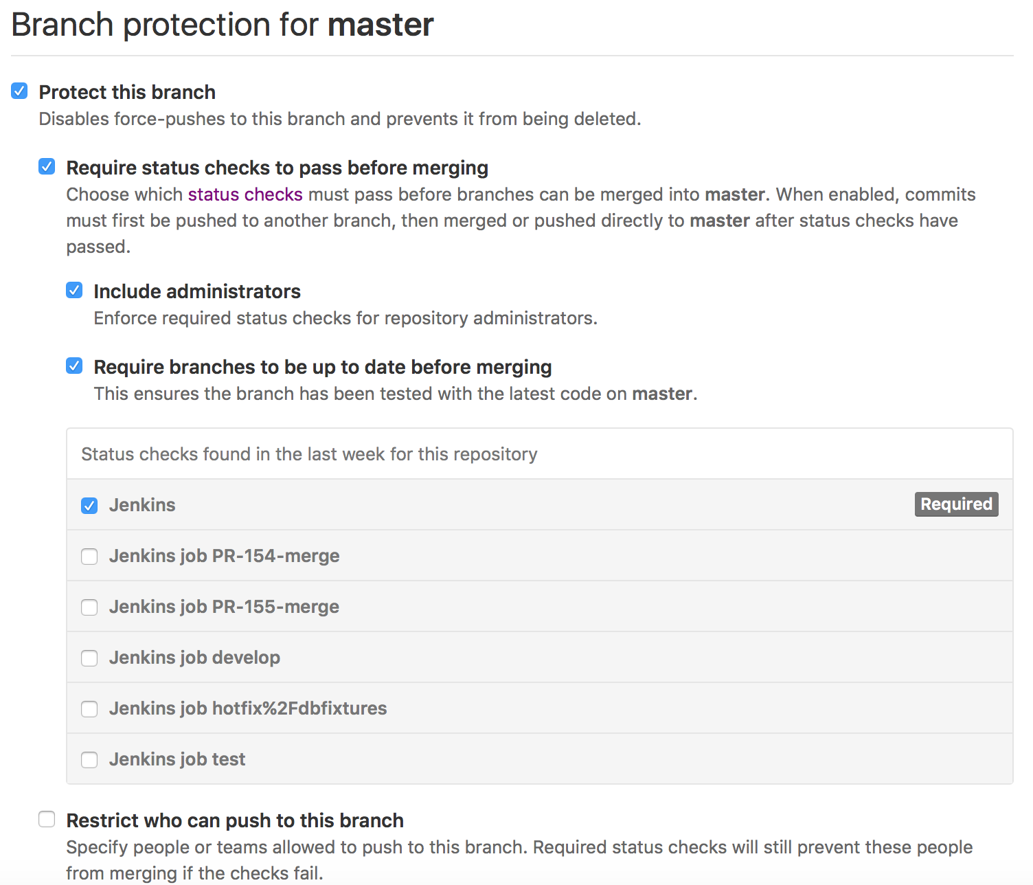 JENKINS-36848] Unable to pass Jenkins status check if GitHub