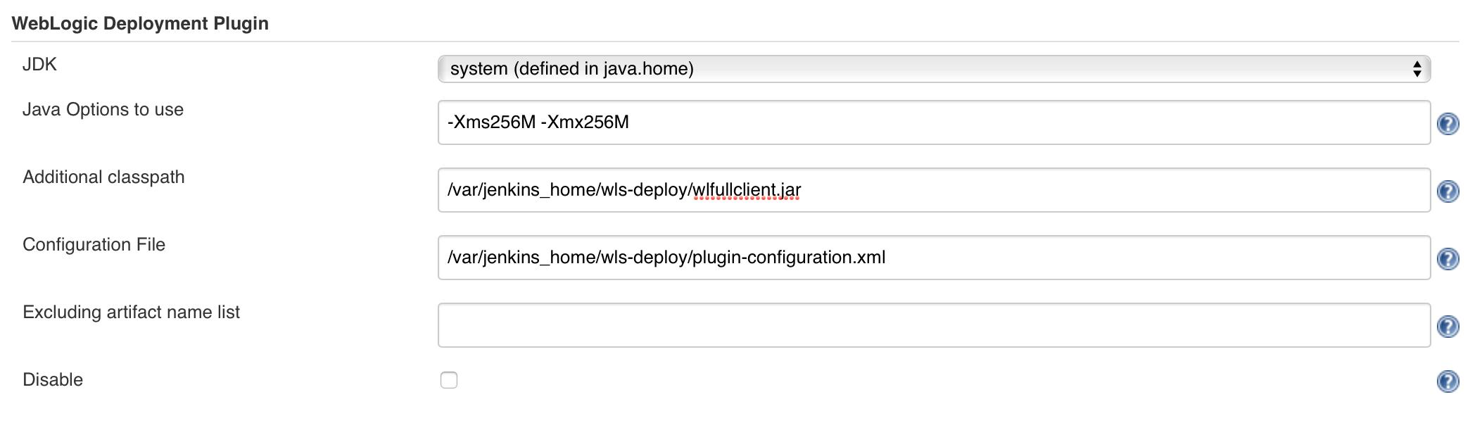 JENKINS-38205] Failed to deploy war on Weblogic: task