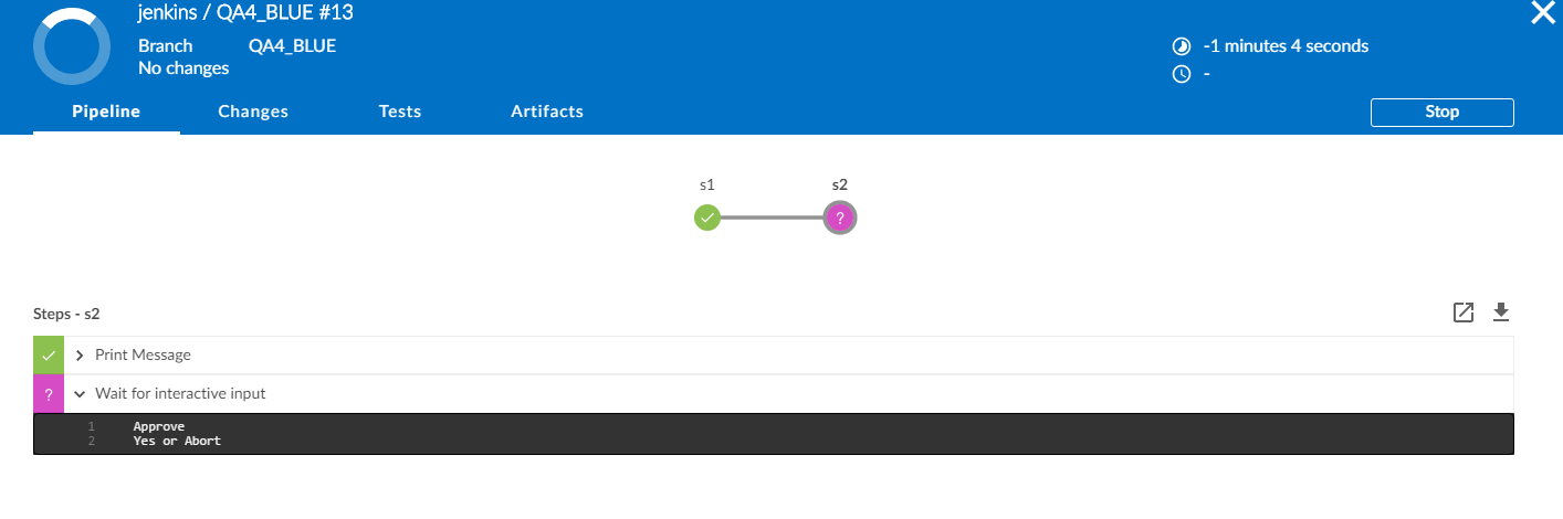 JENKINS-39395] Input cannot be approved on Blue Ocean pipeline UI