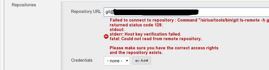 JENKINS-40009] Credentials dropdown empty even after adding