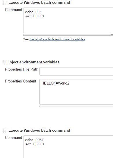 JENKINS-41324] Environment variables injected in a build