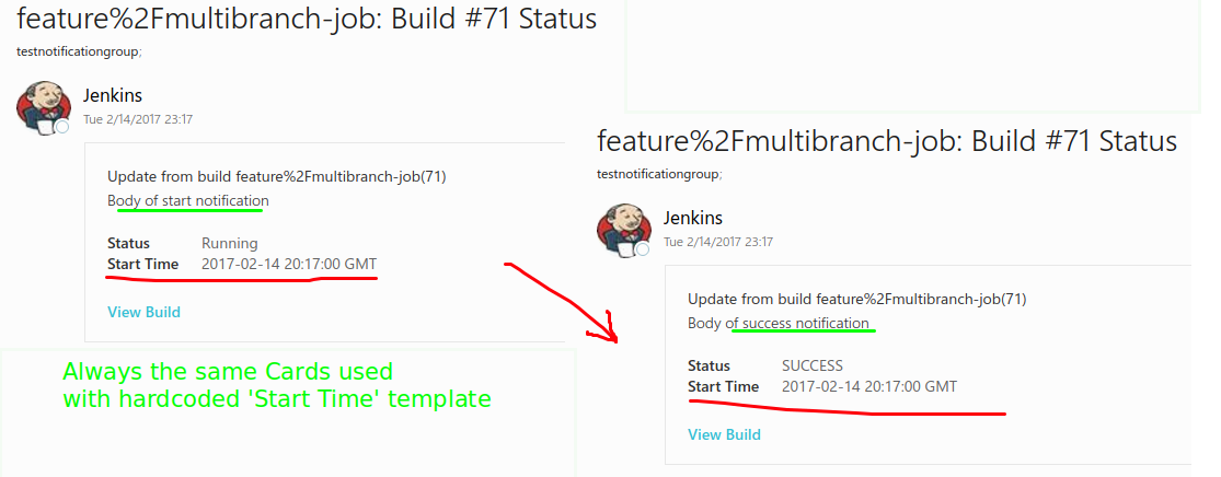 JENKINS-42033] Override `Start Time` (or remove it at all