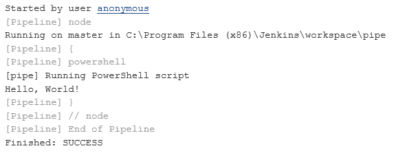 JENKINS-34581] Please add support for Pipelines to the Powershell