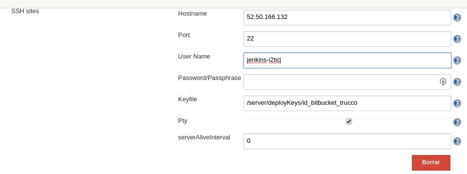 JENKINS-45647] SSH plugin auth error on ver 2 5 (working on