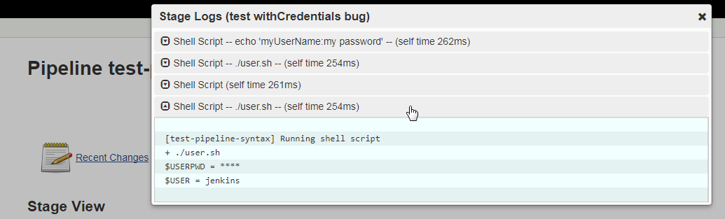JENKINS-47101] Pipeline withCredentials step does not mask