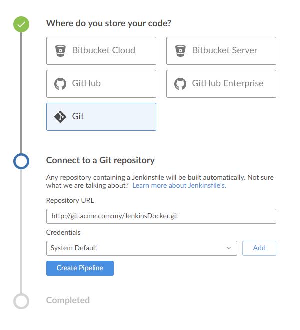 JENKINS-47628] Git Blue Ocean plugin creates ssh key - Jenkins JIRA