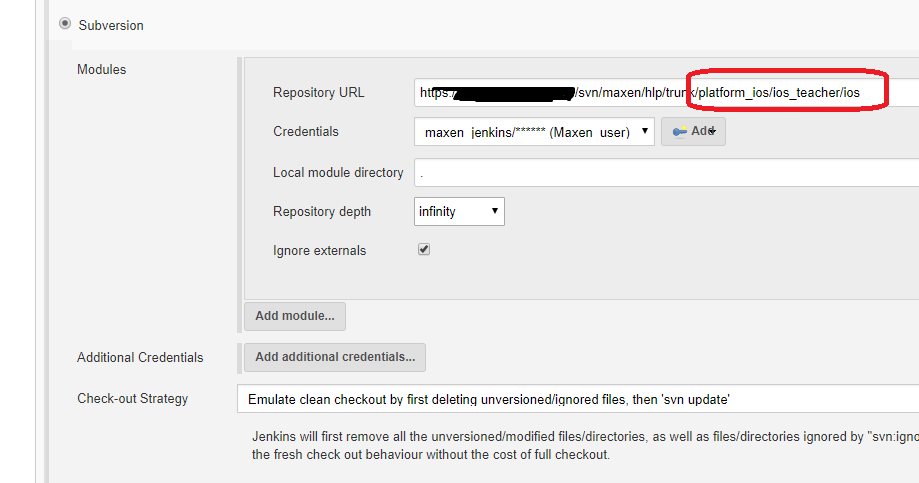 JENKINS-48739] Anonymous disable the job when subversion folder was