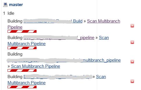 JENKINS-48933] Unstoppable Multibranch Pipeline Scan - Jenkins JIRA