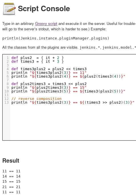 JENKINS-50338] Groovy closure composition doesn't work