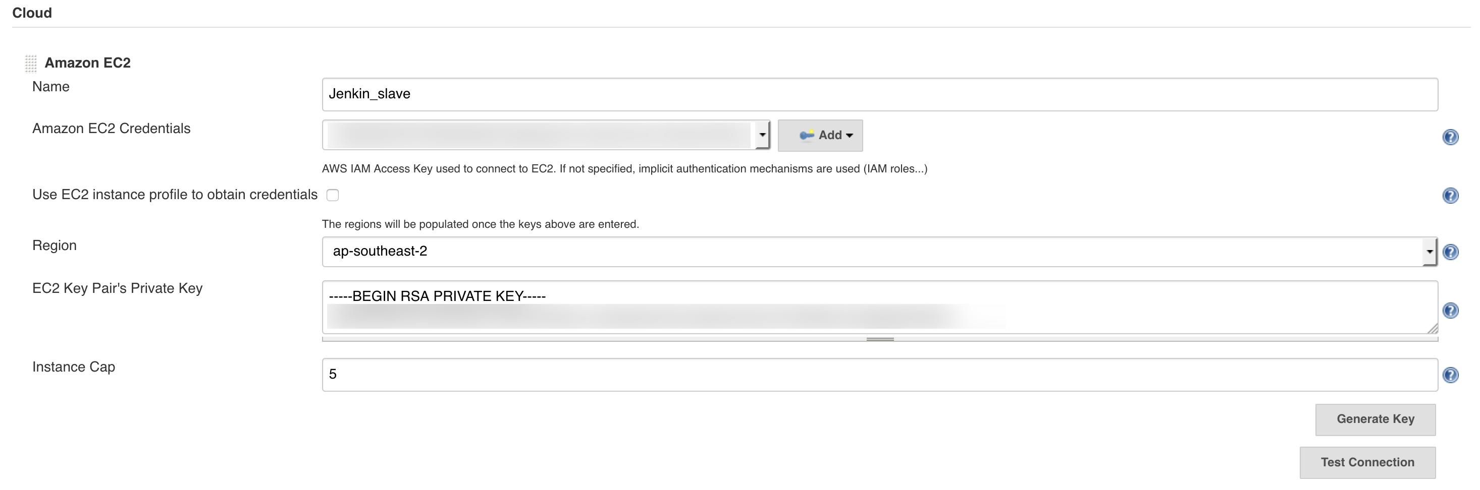 JENKINS-50931] EC2 Instance cap is not respected - Jenkins JIRA
