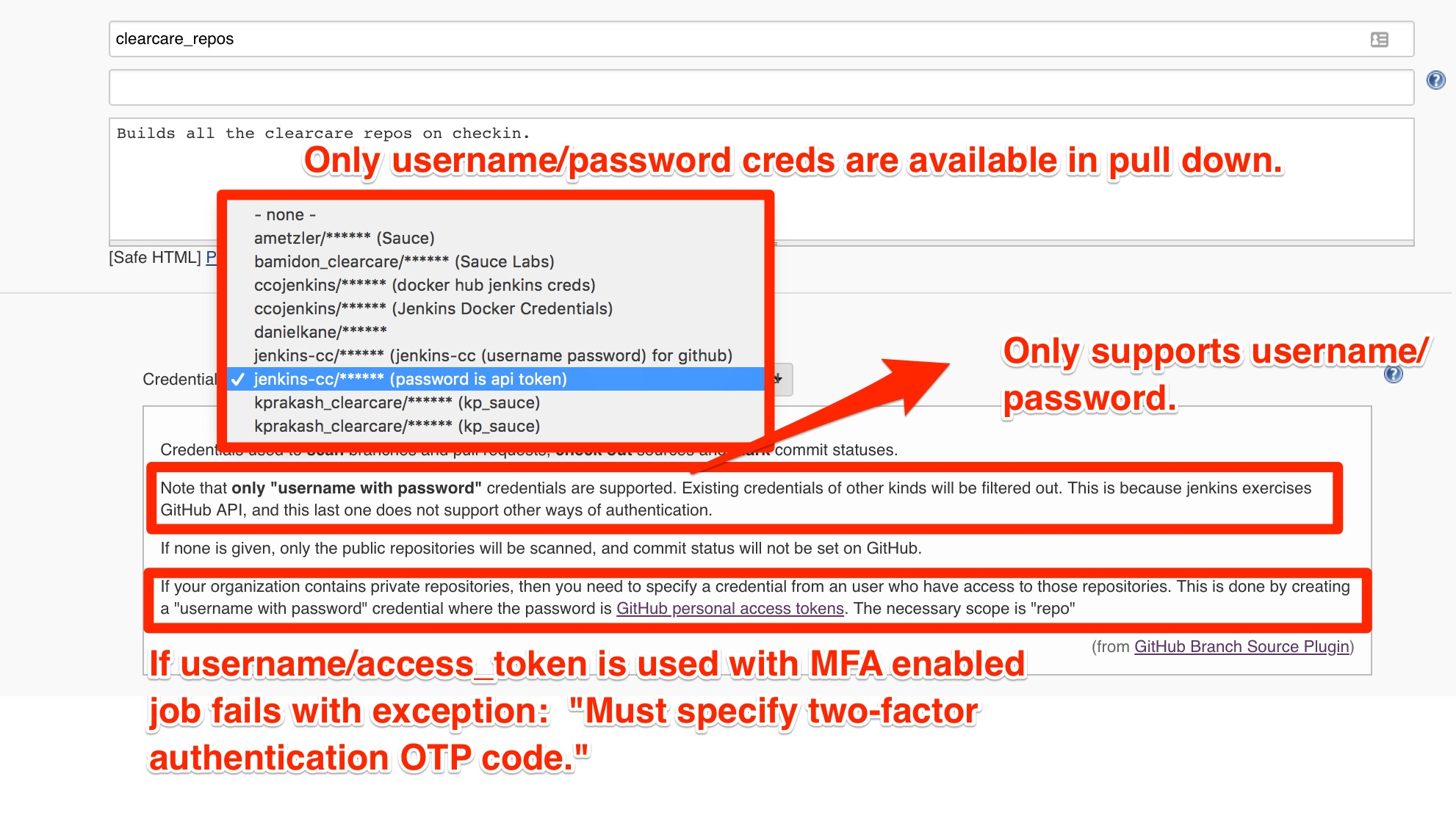 JENKINS-51092] Two Factor Auth in Github Breaks Authentication for