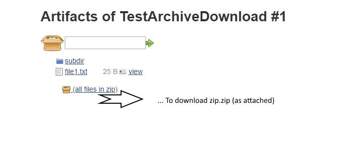 JENKINS-51515] Downloaded (zipped) Artifact seems to be
