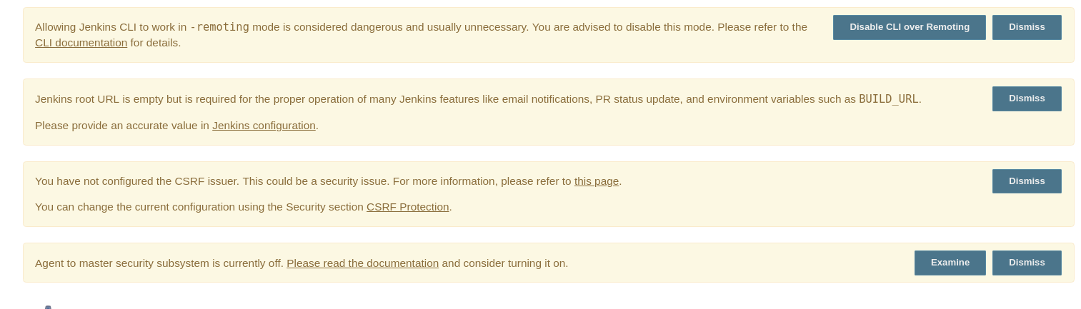 JENKINS-53215] Secure defaults not being configured for Jenkins out