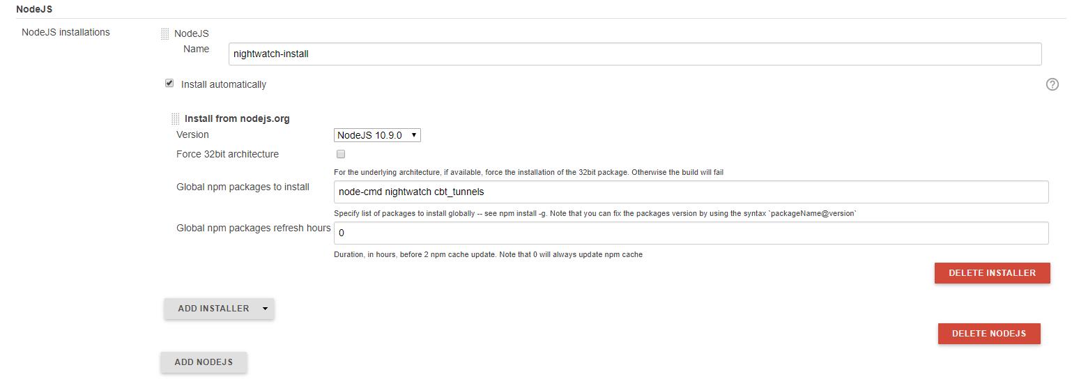 JENKINS-53463] NodeJS plugin - NodeJS installation not working