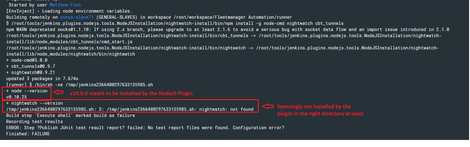 JENKINS-53463] NodeJS plugin - NodeJS installation not