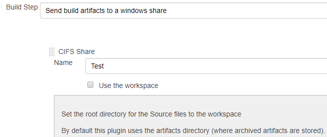 JENKINS-55034] Cannot publish over CIFS from artifact directory