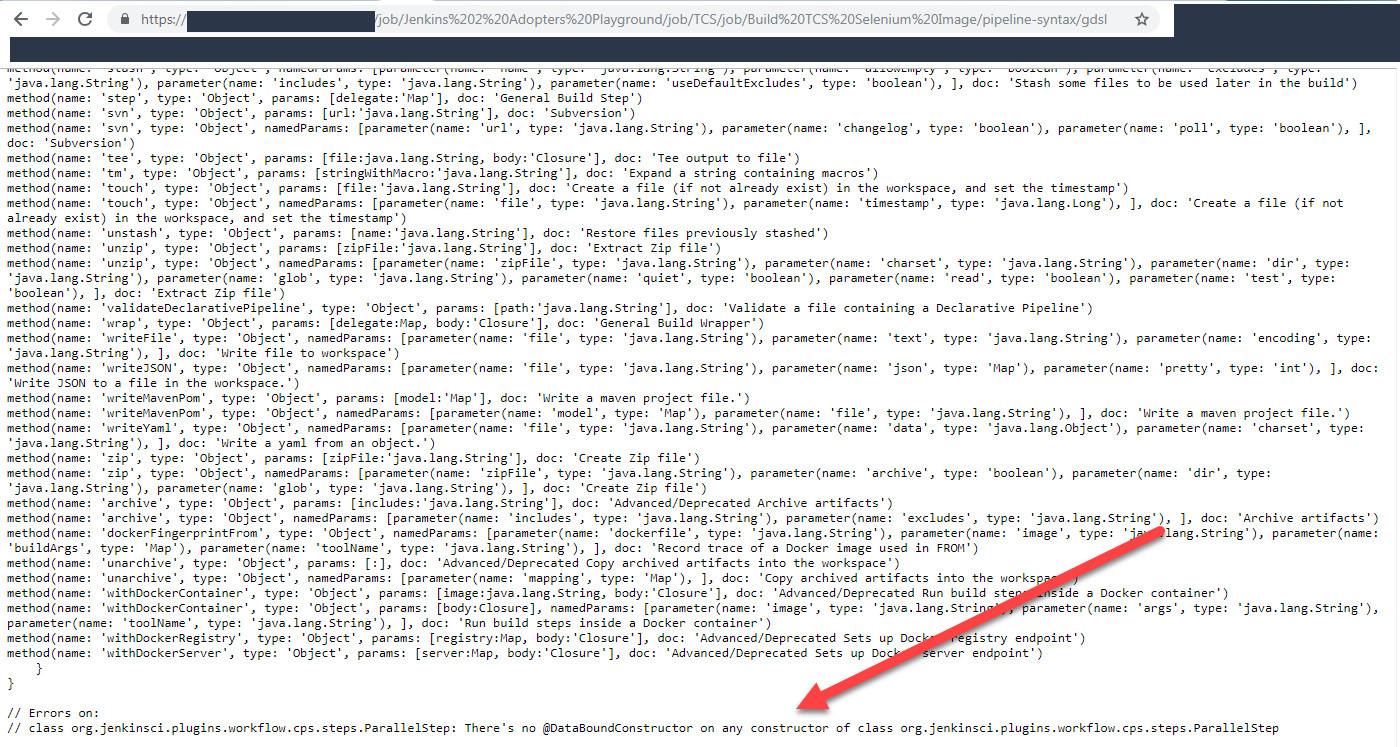 JENKINS-38404] Pipeline Syntax Help does not show Parallel