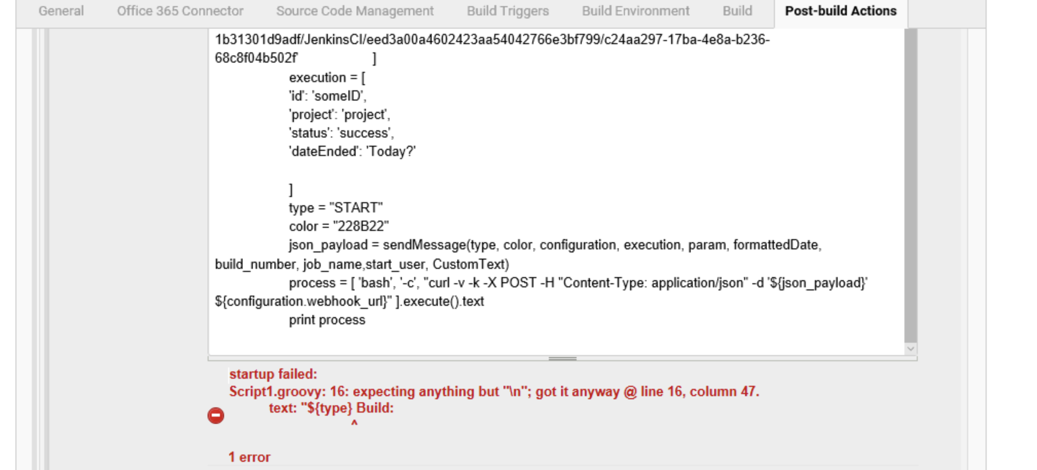 JENKINS-55474] \n in code with is merged doesn't reflect in Jenkins