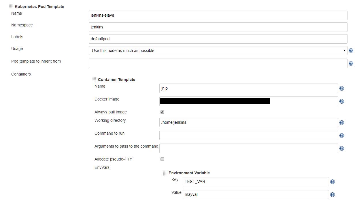 JENKINS-55096] can not override jnlp container - Jenkins JIRA