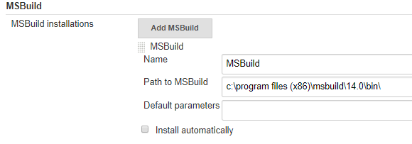 JENKINS-56389] MSBuild fails in Declarative Pipeline