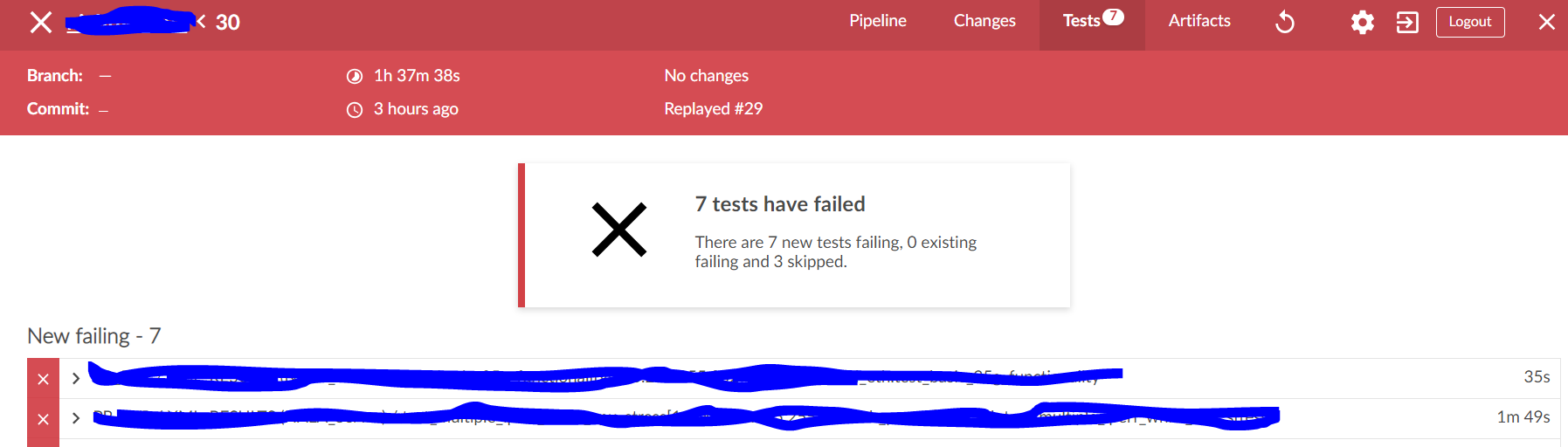JENKINS-56496] use blueocean tests results as pass/fail/unstable