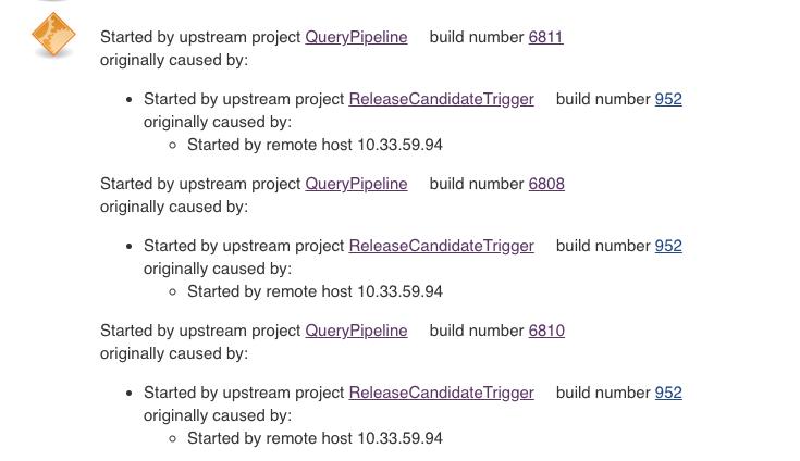 Jenkins Get Build Number Of Triggered Job