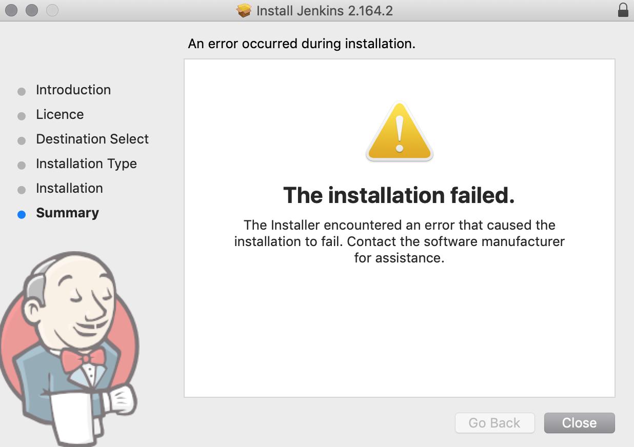 JENKINS-57331] Installation on Mac OS 10 14 4 fails