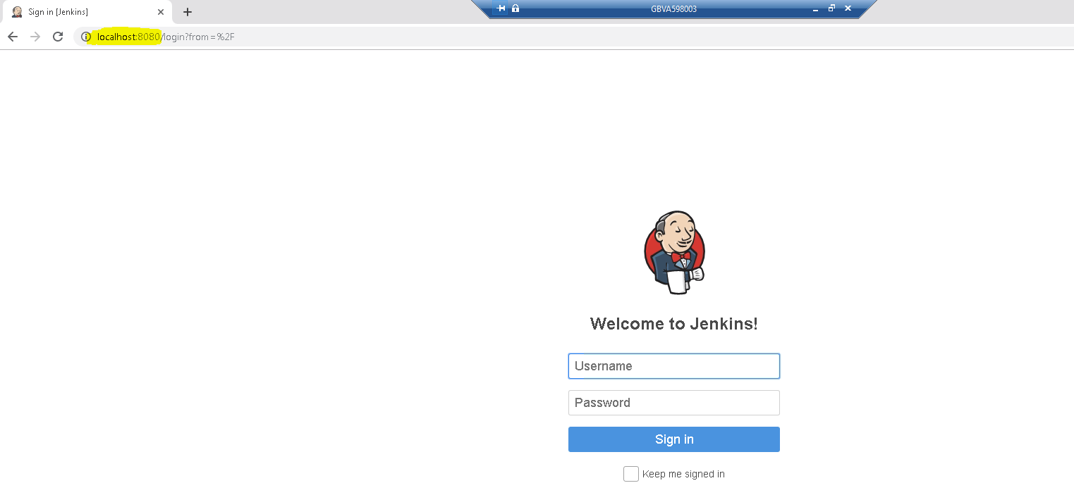 JENKINS-58457] Not able to open JenkinsUI from slave machine when