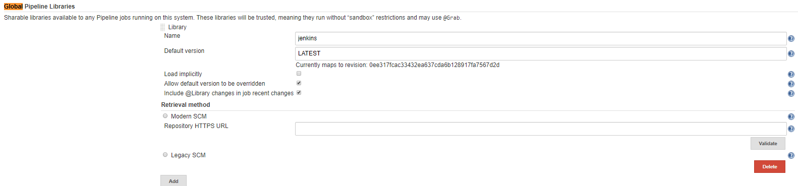 JENKINS-59145] After Jenkins upgrade pipeline script from