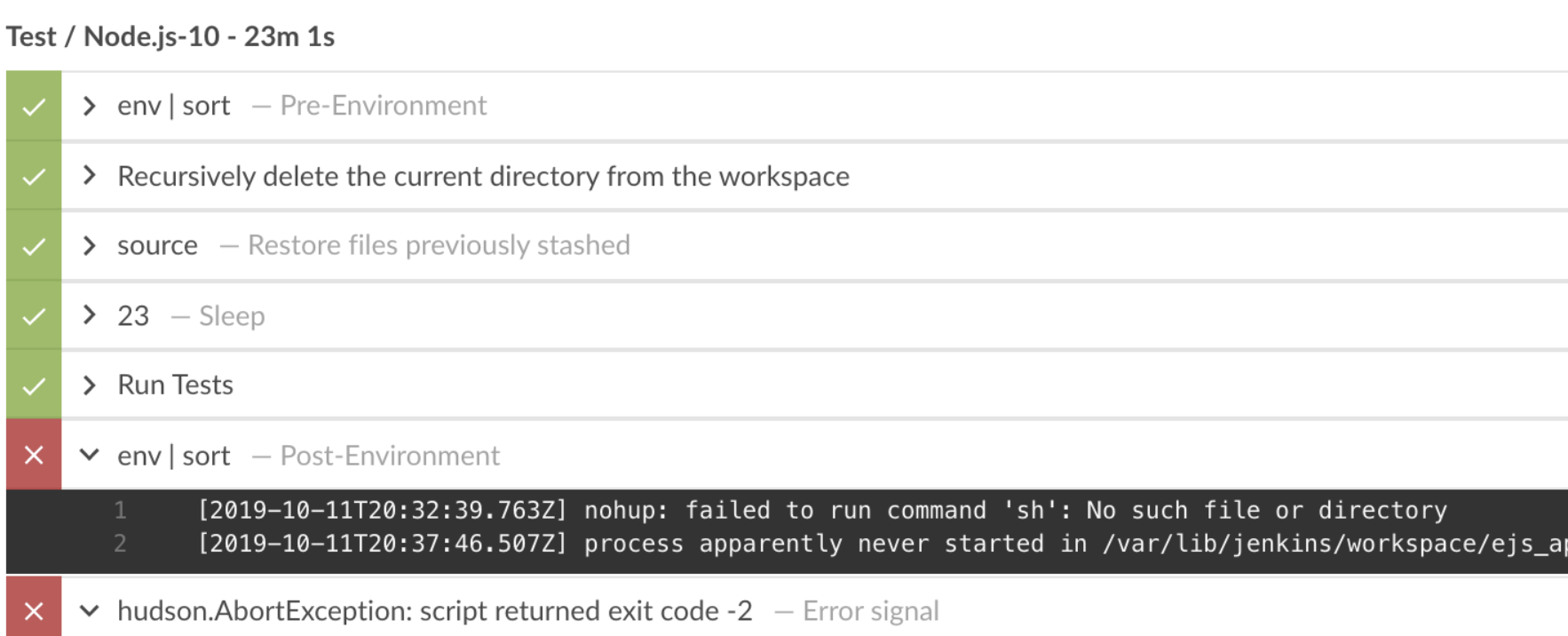 JENKINS-59668] Run wrapper process in the background fails