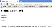 Unable to See the HTML Report - Error 404.JPG